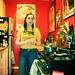 EO in her kitchen.