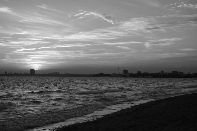 Hanlans Point Sunset In Silver  Hanlans Point Nude Beach   Flickr-6354