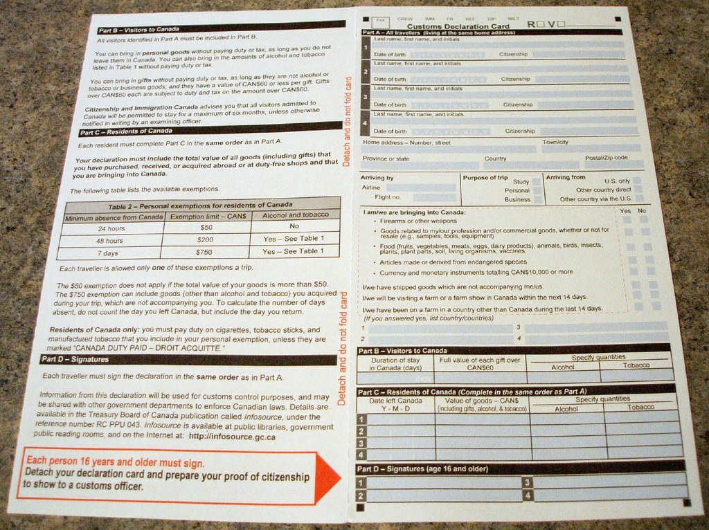 customs declaration form philippines pdf