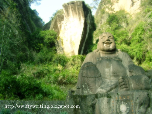 Laughing Buddha Statue At Wuyishan | by edmundyeo