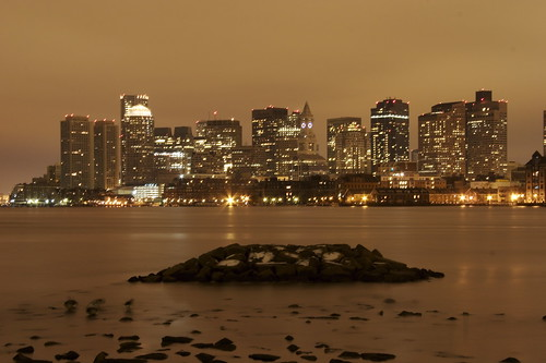 Boston Skyline @ 4:45am | by StarrGazr