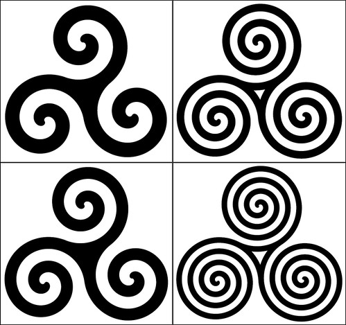 Celtic Spiral Tattoo Designs