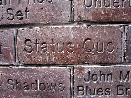 The Quo brick | by squacco