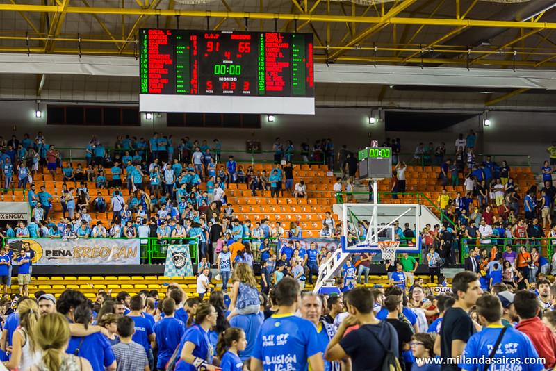Marcador final con victoria para el Ourense por 91-65