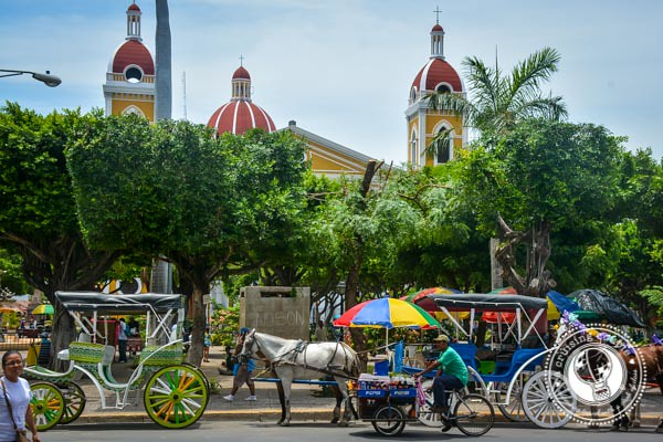 Central Park Granada Nicaragua