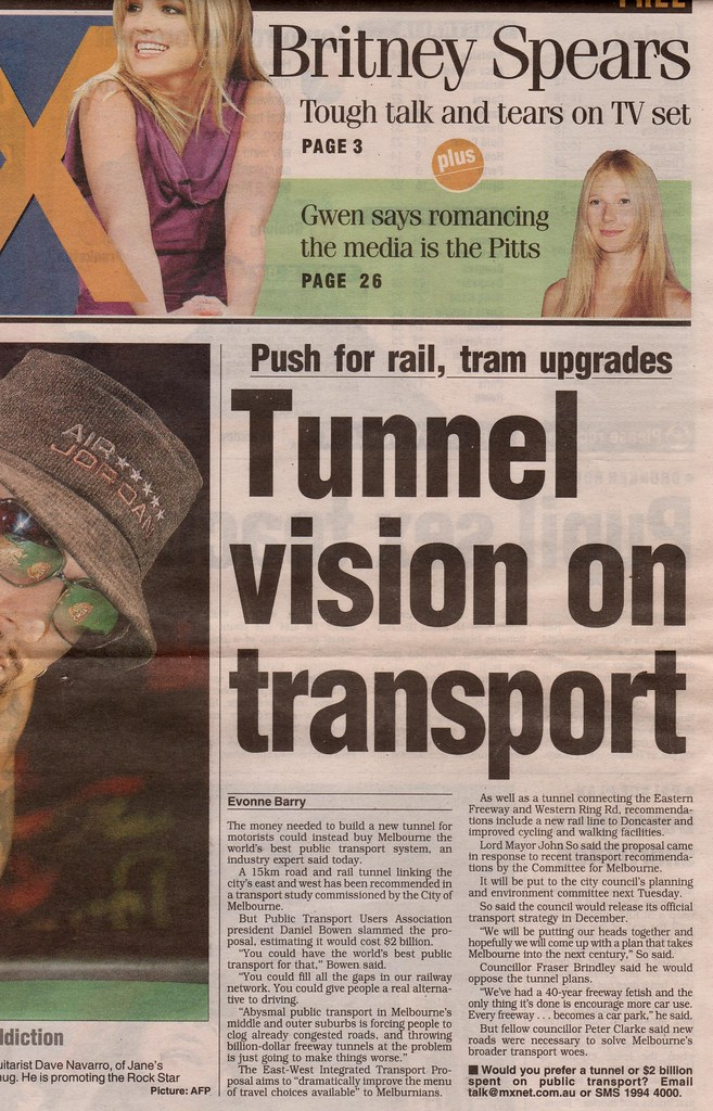 MX: road tunnel, or public transport (30/8/2005)
