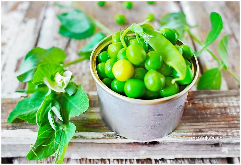...green peas