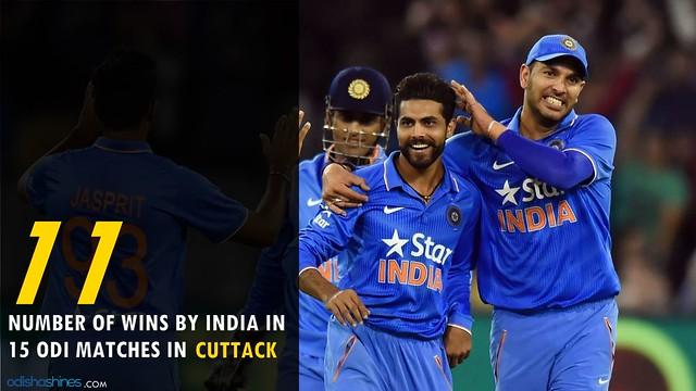 Barabati, From 13Years India Team Is Invincible At Barabati & Team India Will Continue The Streak!