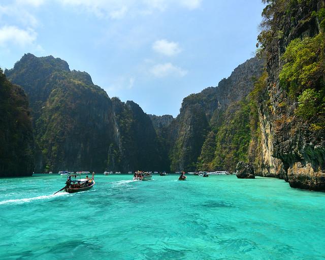 Pileh Lagoon, una de las playas tailandesas más bonitas