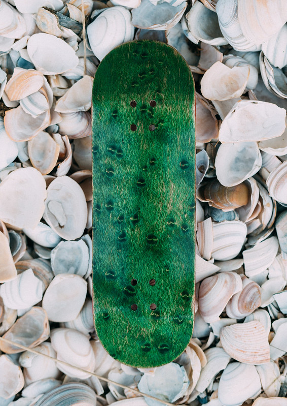 Rainbow Fingerboards - Exotic Green Wood