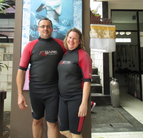 Bali sea walker experience