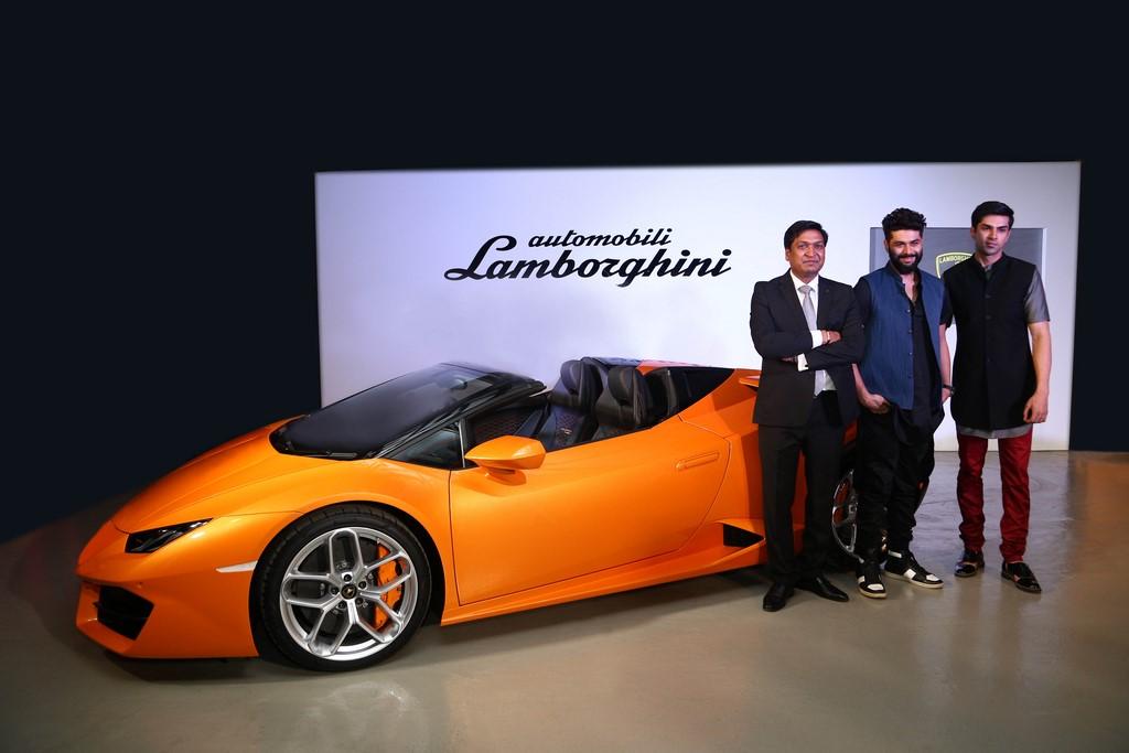 Lamborghini-Huracan-RWD-Spyder-India-Launch