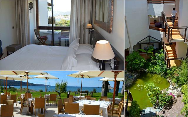 Hotel La Roya in St Florent, Corsica