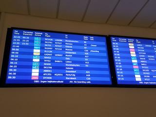 SAS: Copenhagen > Stockholm, delay
