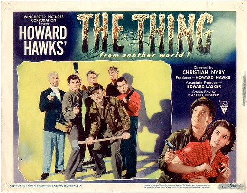 The Thing From Another World - lobbycard 1