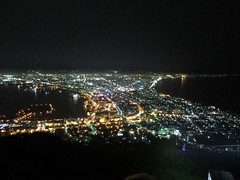 函館山の夜