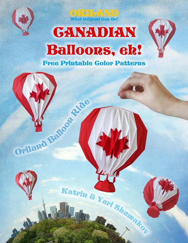 Canadian Balloons, eh! Oriland Balloon Ride