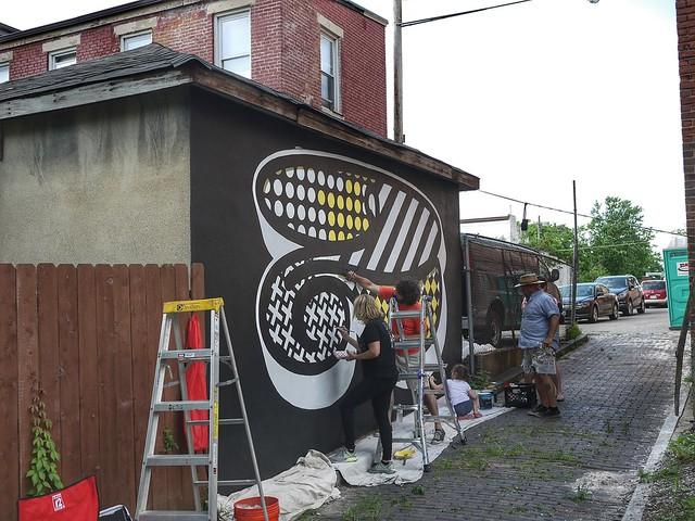 5 alleys beer popup