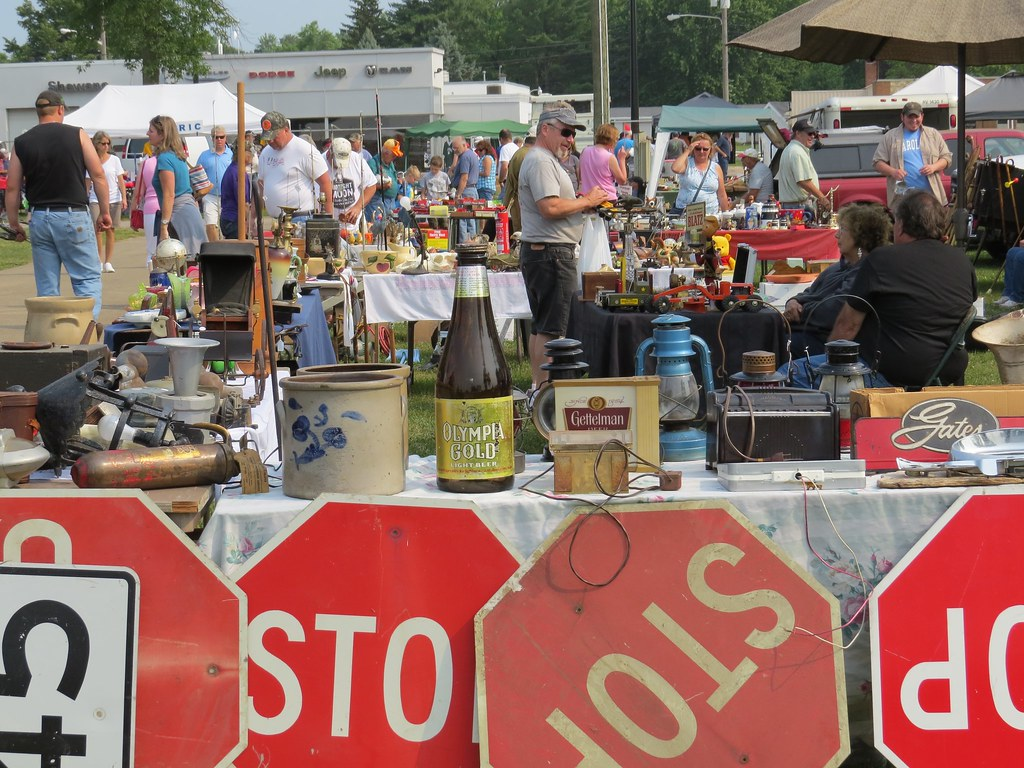 Shawano Wisconsin Flea Market July 2015