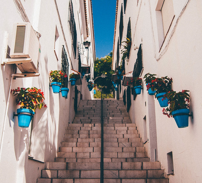 Spanish Stairway, Mijas