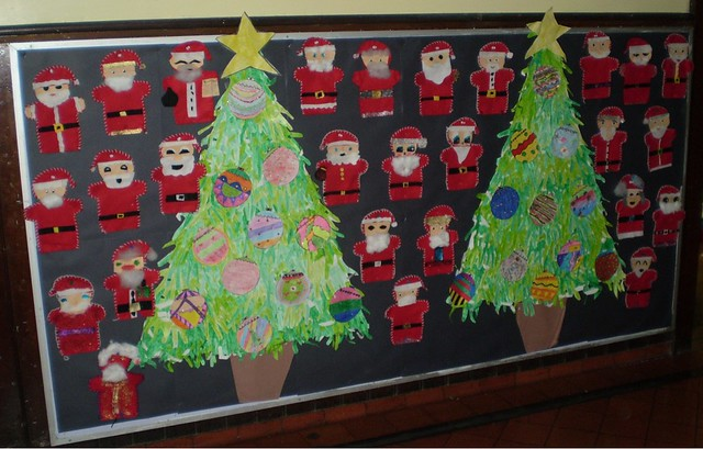 6th class Christmas Art & Crafts