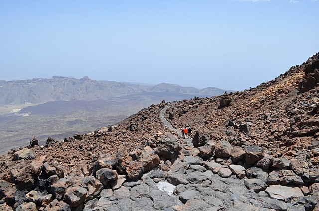 Calima in Teide National Park, Tenerife