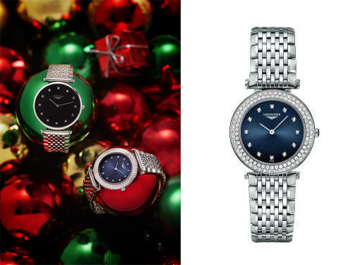Longines brand elegant dream Christmas tree sparkle