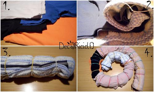 paraspifferi riciclo indumenti 2