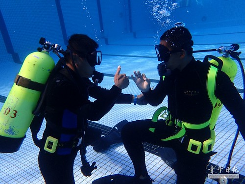 第100期「水械專長潛水班」