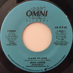 JEAN CARNE:FLAME OF LOVE(LABEL SIDE-A)