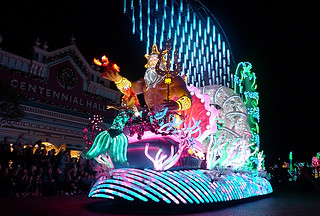 Disneyland Hongkong - Night Parade Under the sea