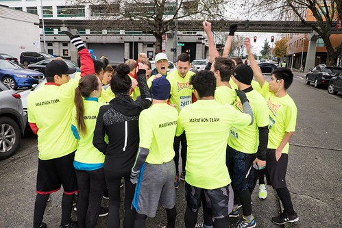 Streetfront Seattle marathon