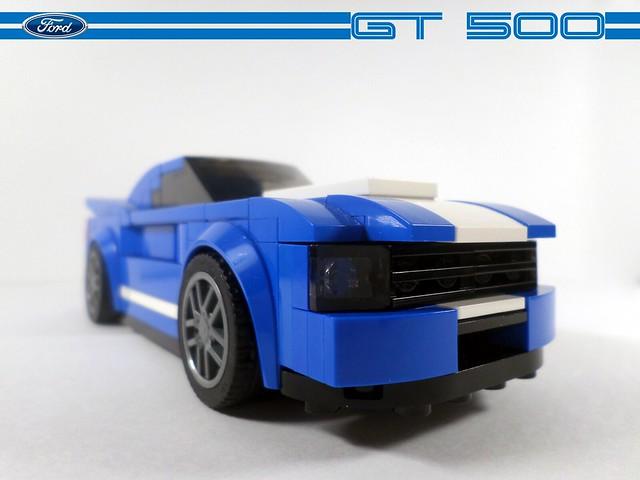 LEGO Ford GT 500 MOC