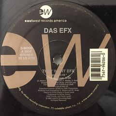 DAS EFX:THEY WANT EFX(LABEL SIDE-A)