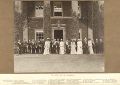 A house party at Mountstewart for the visit of King Edward VII and Queen Alexandra, 1903.