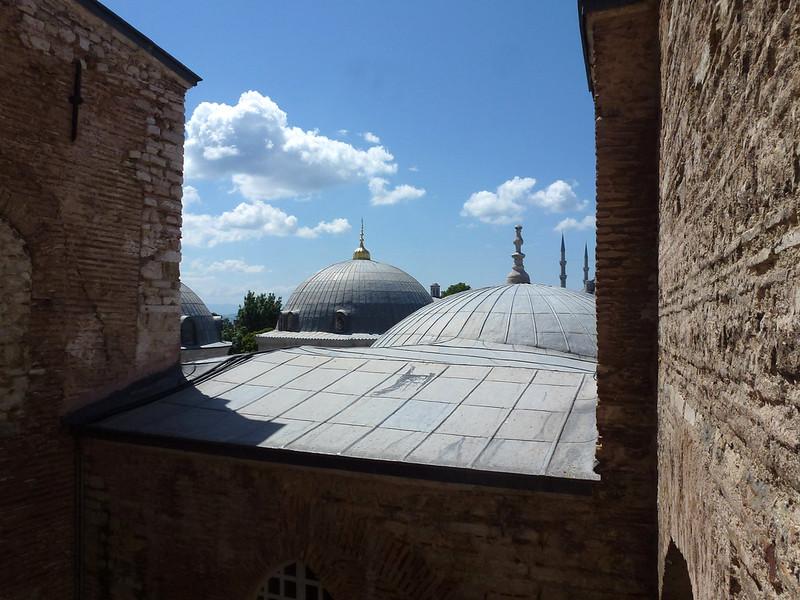 Turquie - jour 23 - Balades poétiques et visages stambouliotes - 085 - Sainte-Sophie
