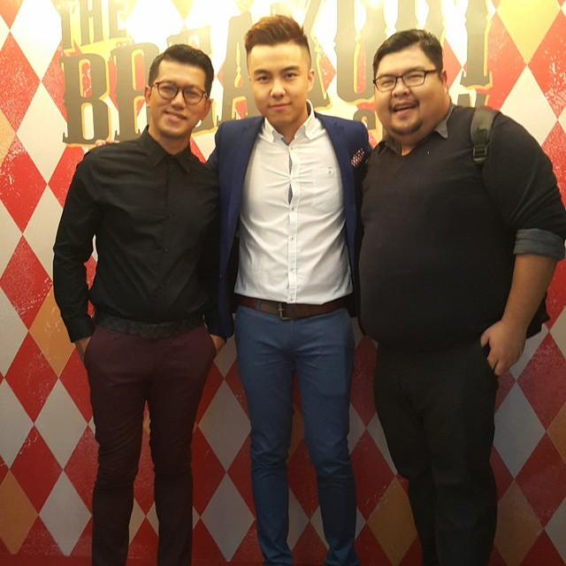 Hangout With Ka Wai Leo &Amp; Cyrill Hassan At Breakout Launch. Congrats @Breakoutmy