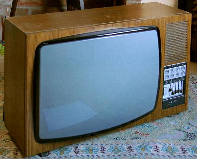 Telefunken 753 colour television 1974 uk pal we sold the flickr - Television but solde ...