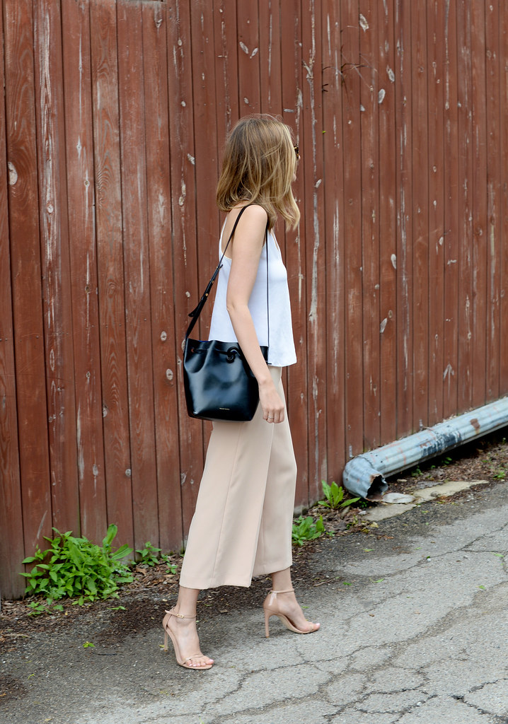 culottes outfit summer, strappy sandals