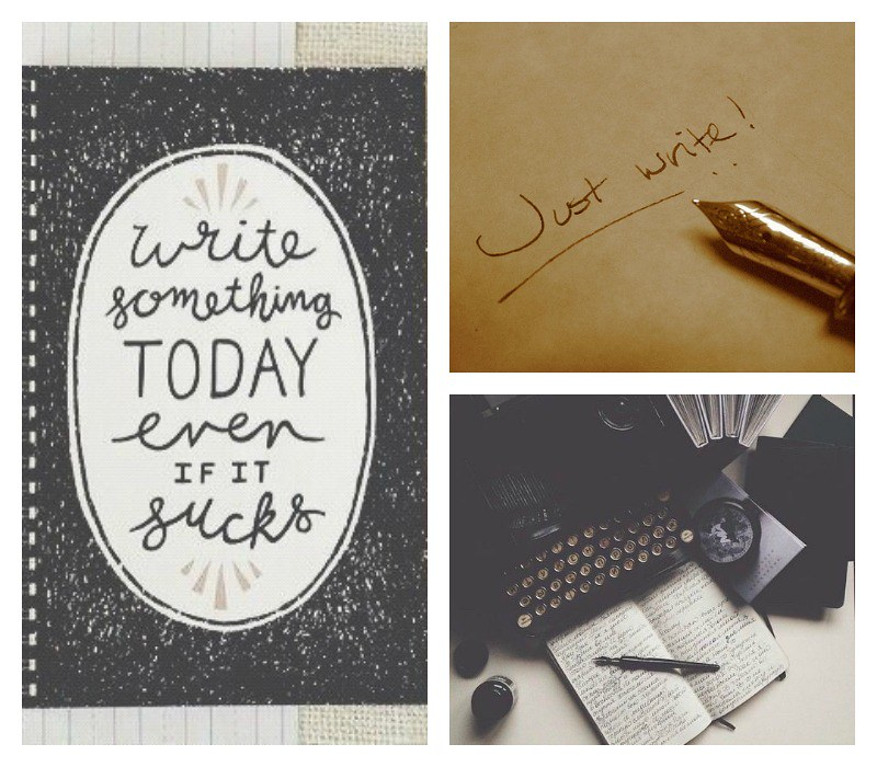 write collage