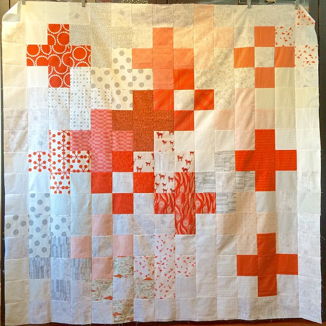 Plus quilt - tutorial