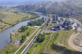 Trident Montana Montana Rail Link S 840 Helena Local