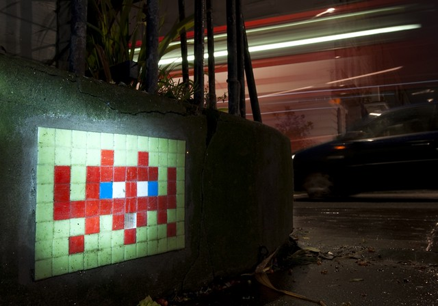 Reactivated Space Invader - LDN_048