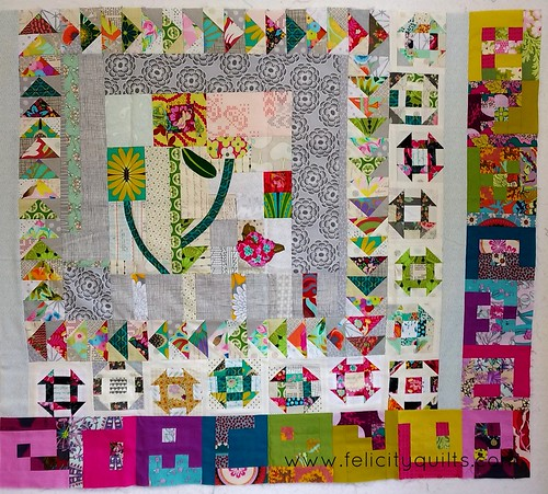 2016 VMQG Round Robin quilt in progress