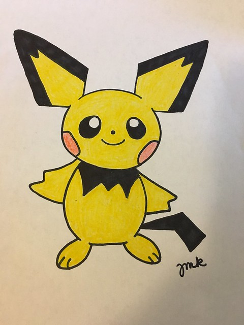 Drawings of Pokémon