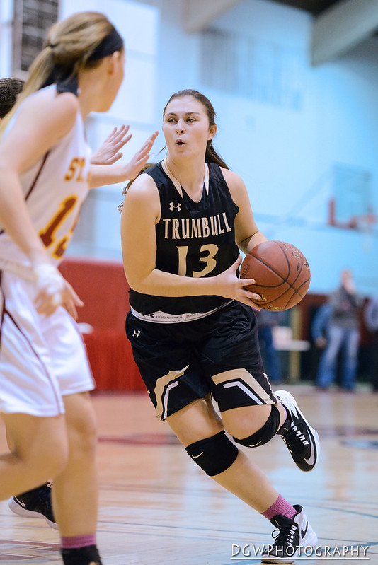 Trumbull High vs. St. Joseph - Girls High School Basketball