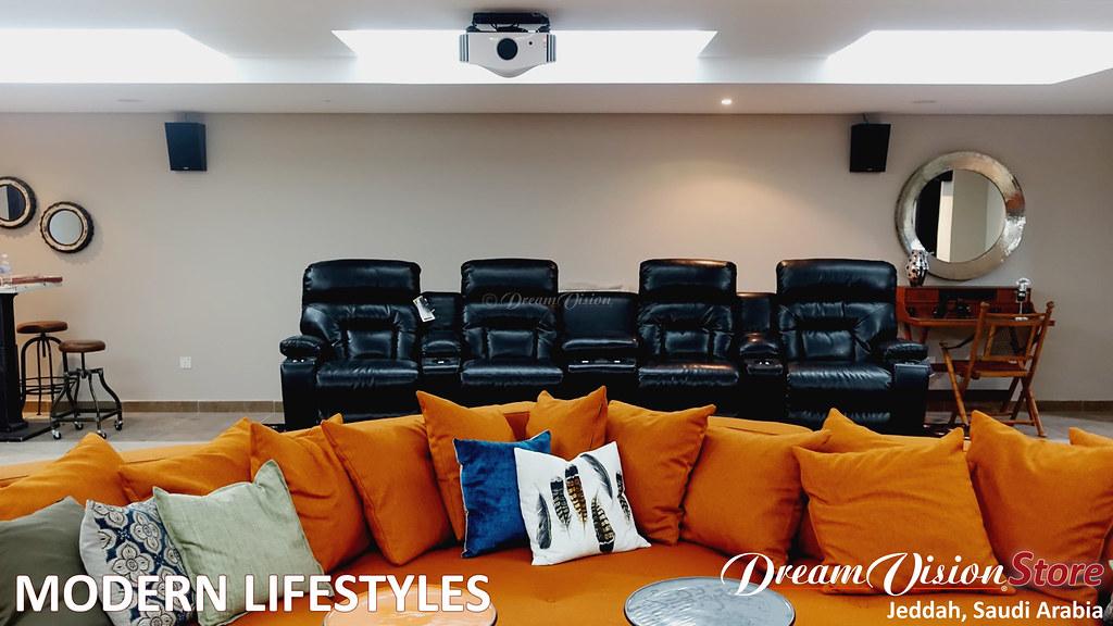 DreamvisionParis A Living Room Cinema In Jeddah