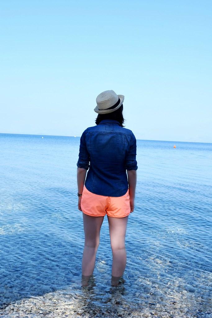 Travel Blogger reviewing Marbella Corfu Greece