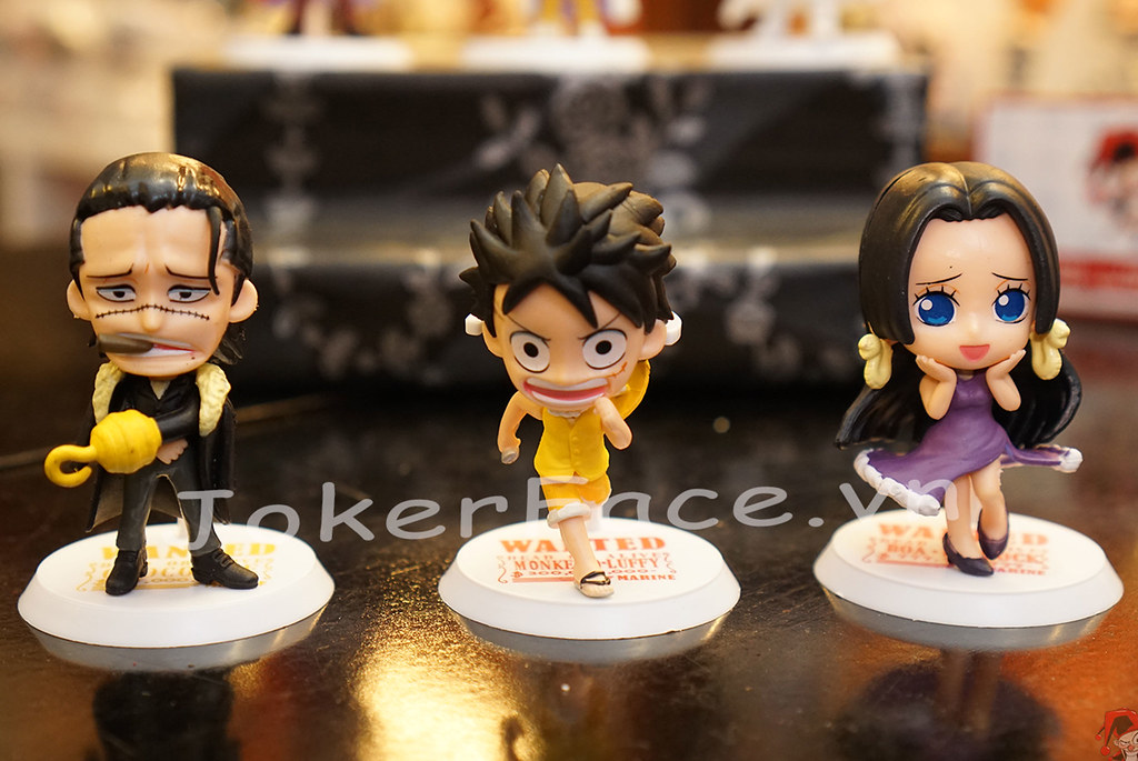 ... Set 3 đô đốc Hải Quân chibi - One Piece | by shop.jokerface
