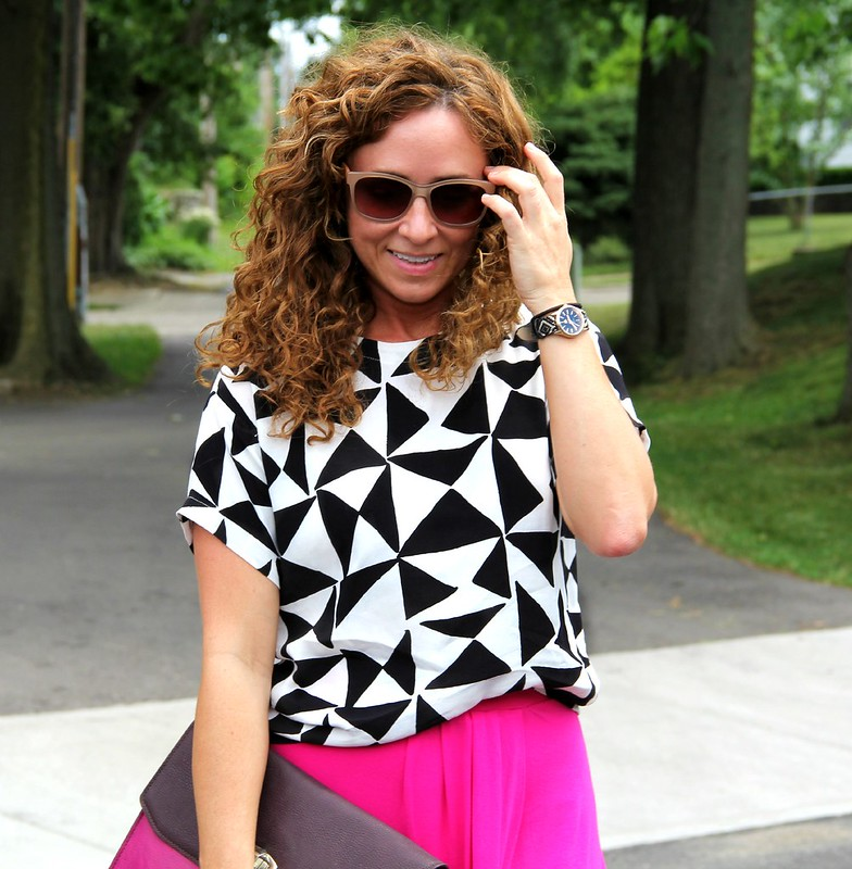 cute outfit for summer via kristinaj blog